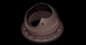 Основание вентиляционной трубы Krovent Base-VT Seam