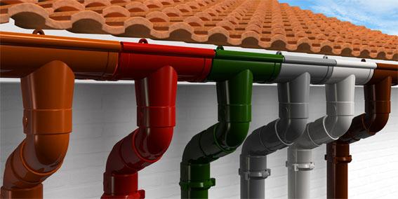водосточные системы фото