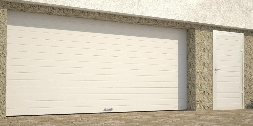Ворота гаражные секционные