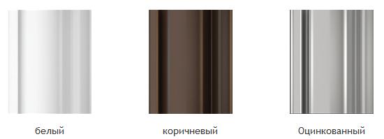 рольставни стальные цвета