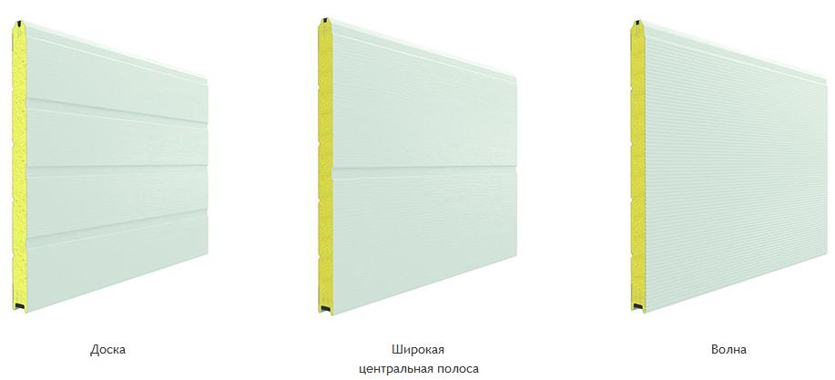 ISD01_виды панелей