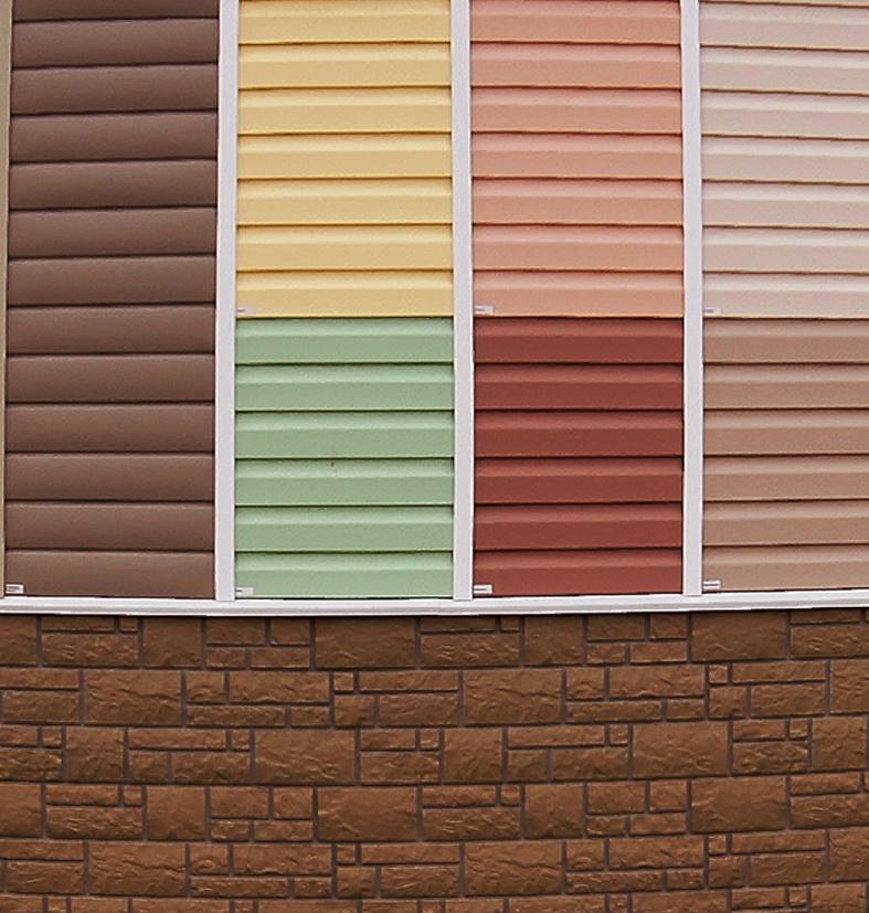 сайдинг или фасадные панели